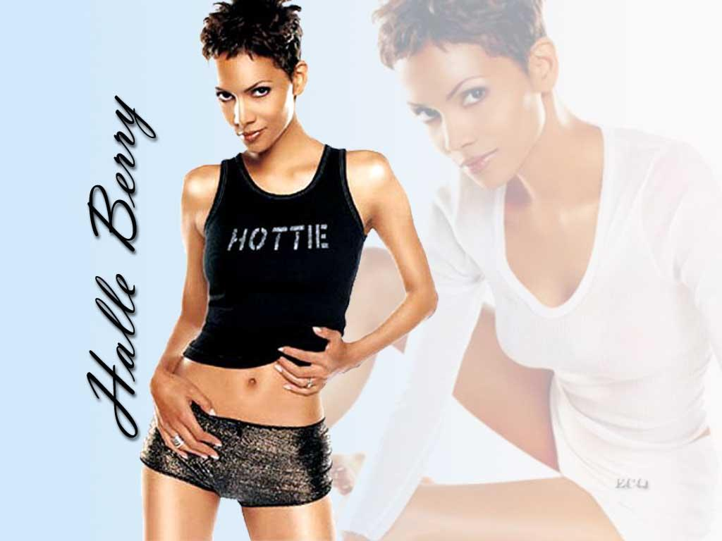 Wallpaper tenue legere Halle Berry