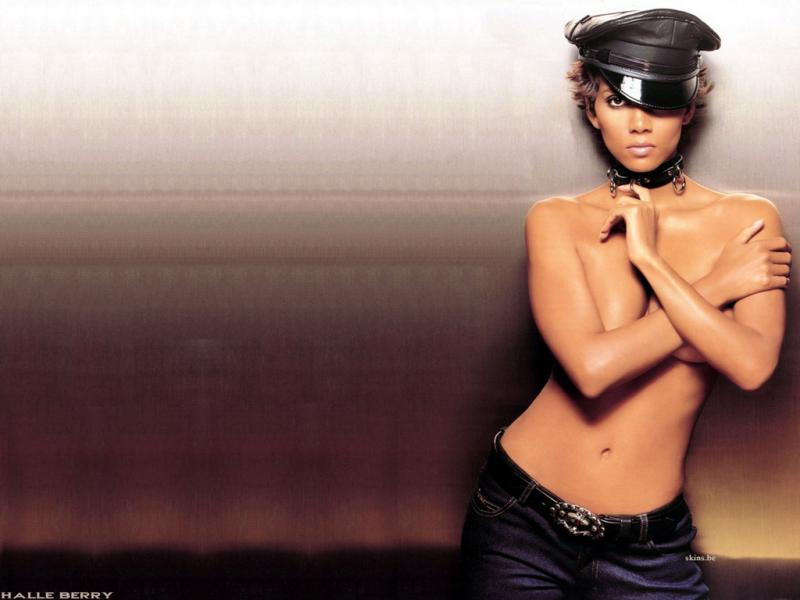 Wallpaper Halle Berry chauffeuse