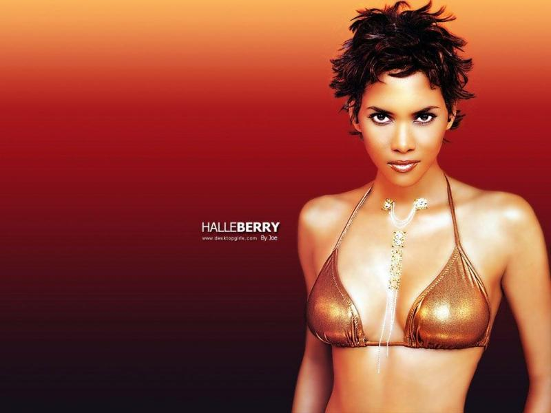 Wallpaper Halle Berry sexy
