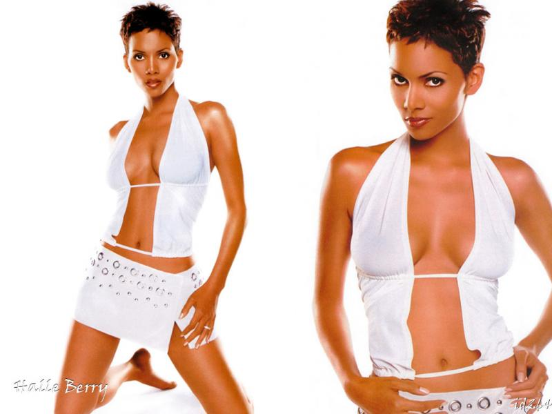 Wallpaper Halle Berry tenue speciale