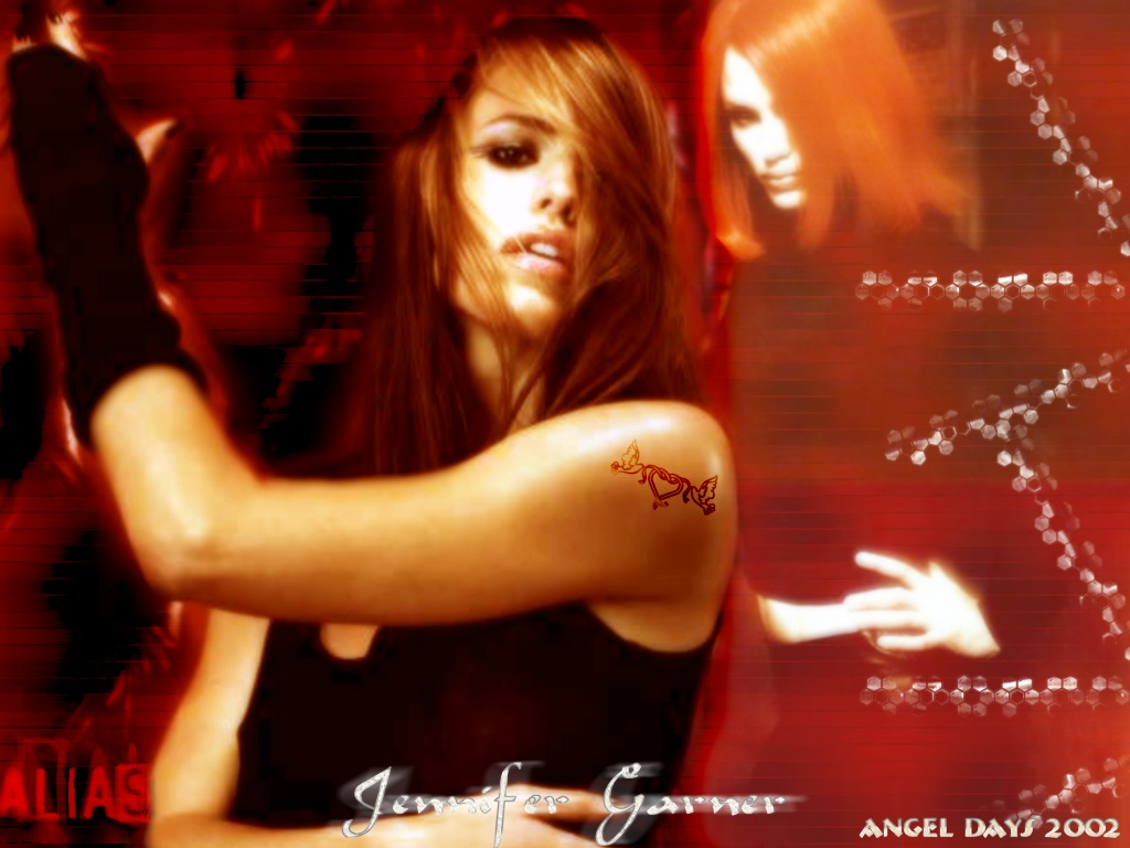 Wallpaper Jennifer Garner Alias