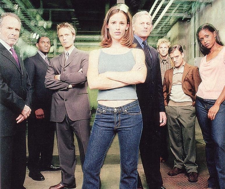 Wallpaper Alias Cast Jennifer Garner