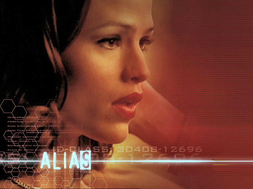 Wallpaper Alias Red Jennifer Garner