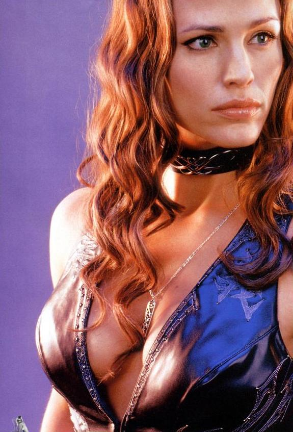 Wallpaper Leather Top Jennifer Garner
