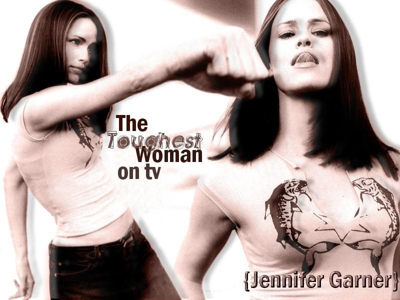 Wallpaper Jennifer Garner TV
