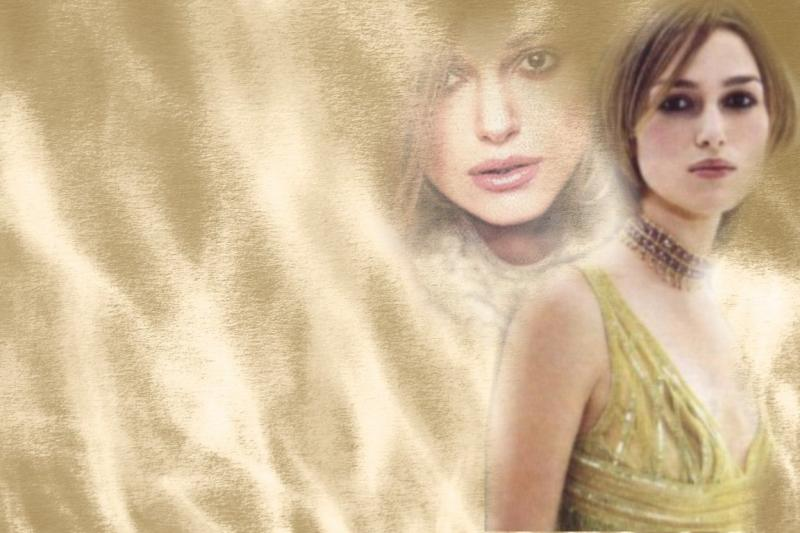 Wallpaper Keira Knightley Sable
