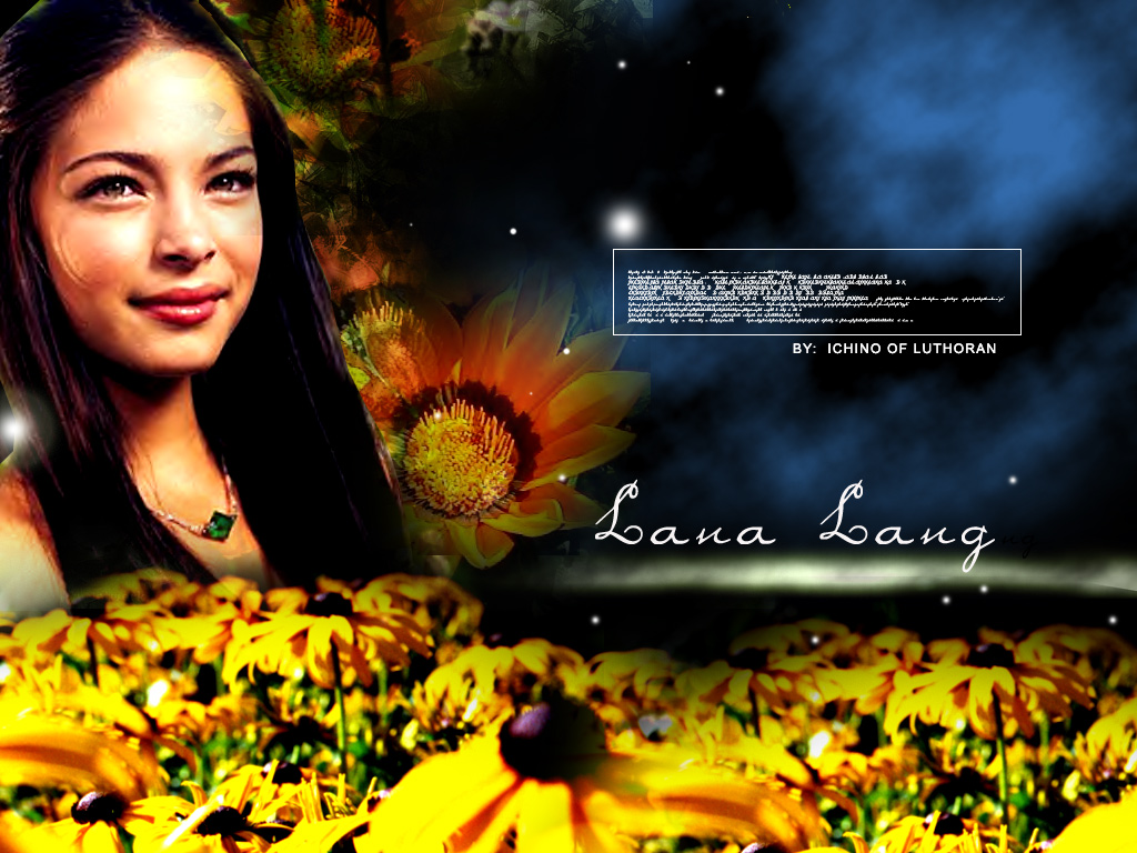Wallpaper Lana Lang Espace Kristin Kreuk
