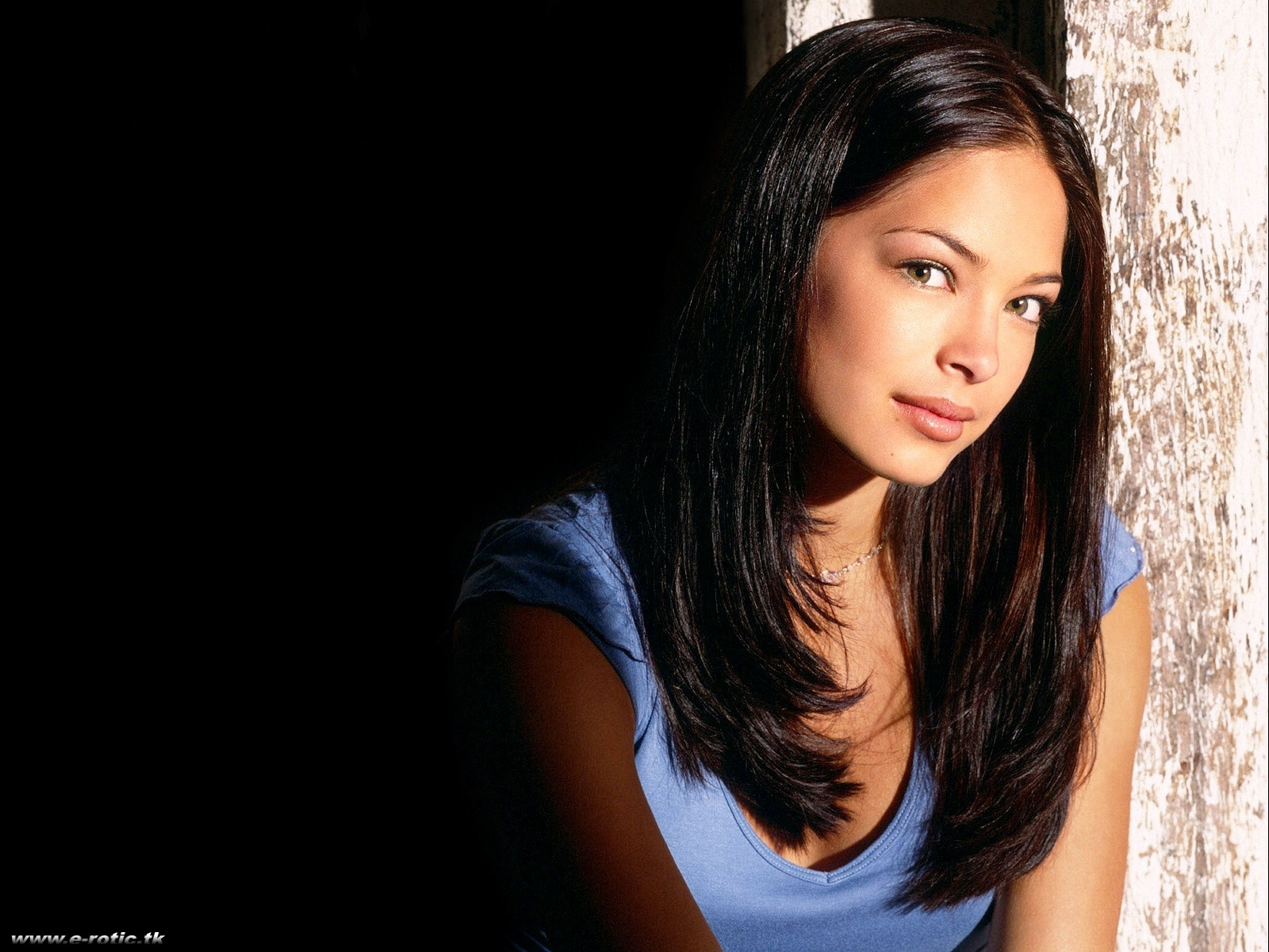Wallpaper Kristin Kreuk Lana top sexy