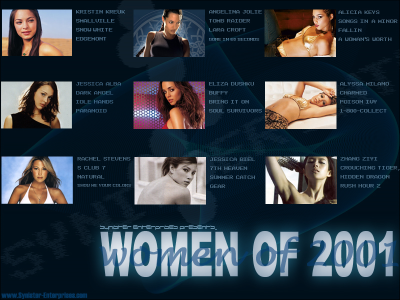 Wallpaper Women of 2001 Kristin Kreuk