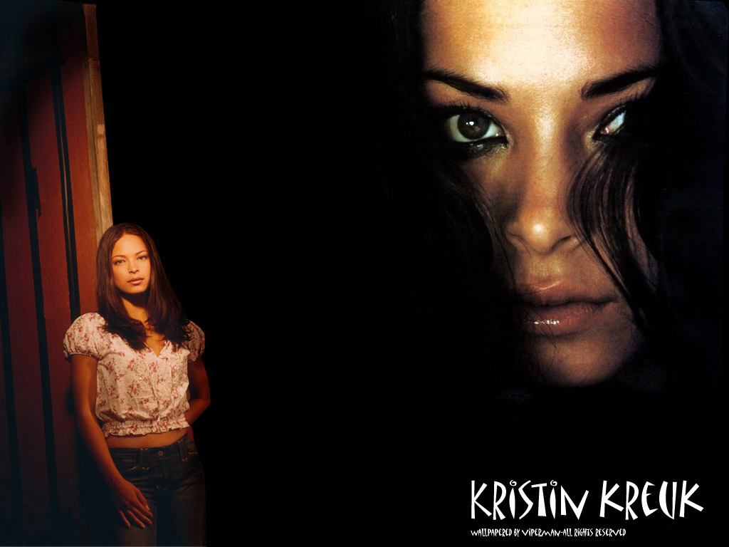 Wallpaper Kristin Kreuk portrait