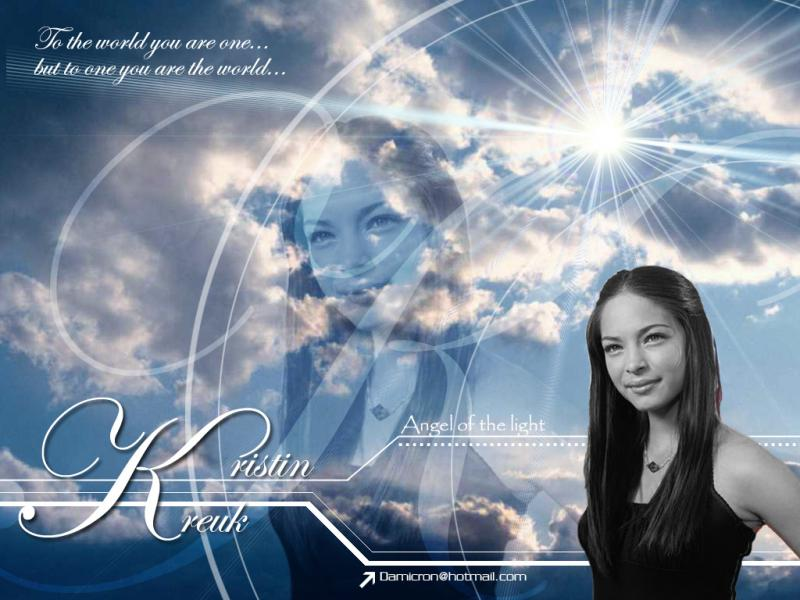 Wallpaper Angelic Kristin Kreuk