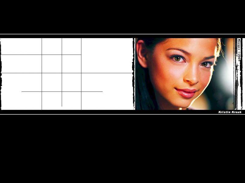Wallpaper Kristin Kreuk Lana Visage
