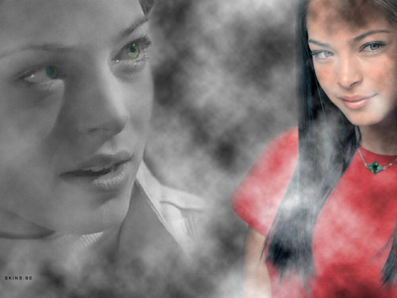 Wallpaper Kristin Kreuk Lana young