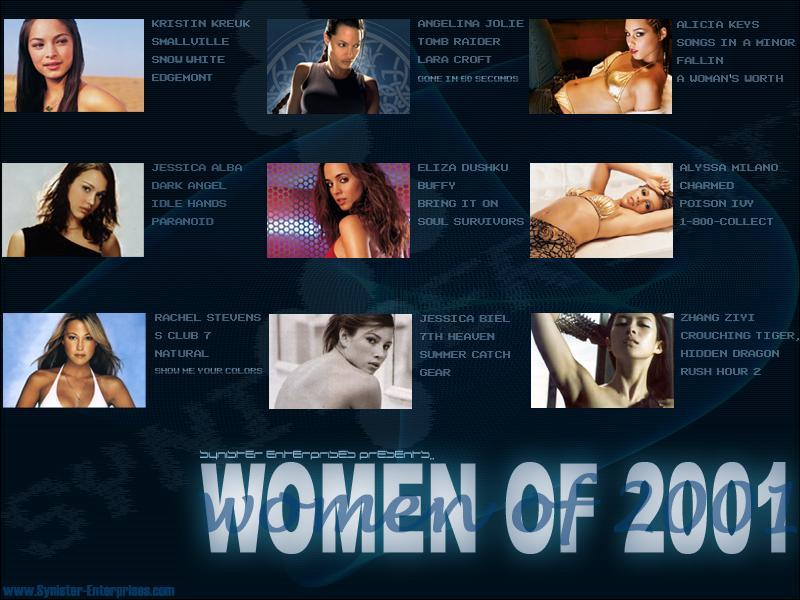 Wallpaper Women of 2001 Kristin Kreuk
