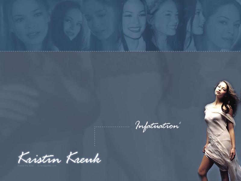 Wallpaper Kristin Kreuk ange
