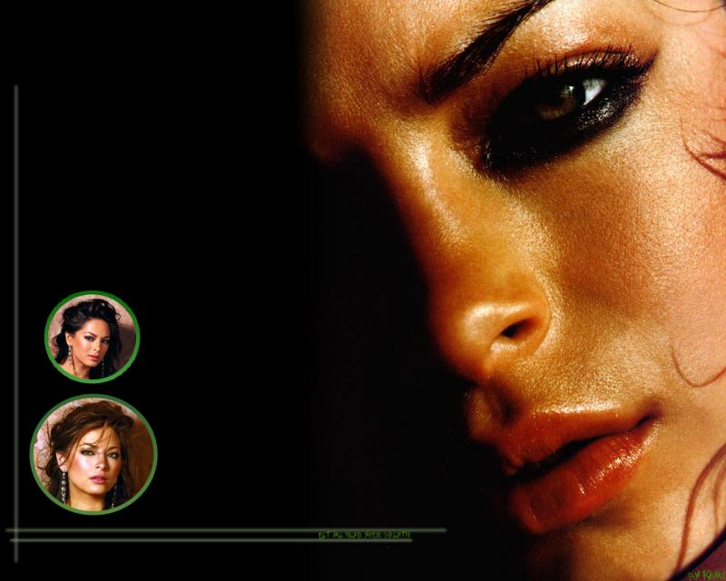 Wallpaper Kristin Kreuk portrait hot