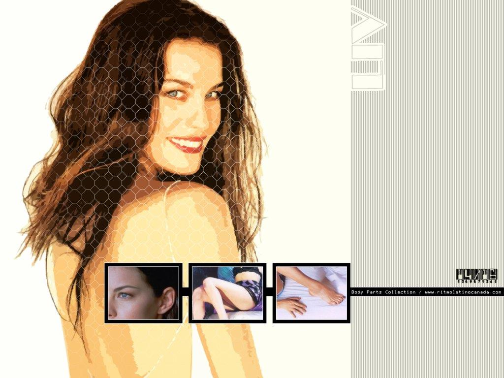 Wallpaper puzzle Liv Tyler