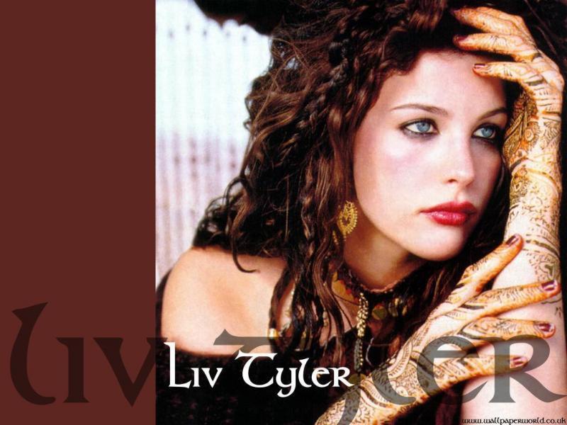 Wallpaper maquillee Liv Tyler