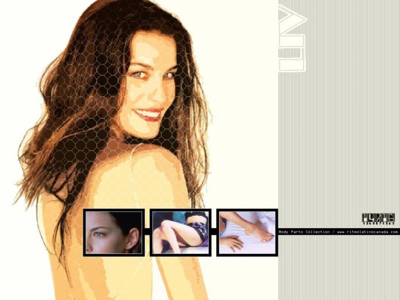 Wallpaper puzzle Liv Tyler