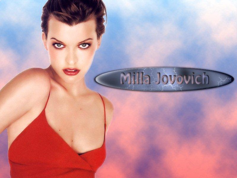 Wallpaper russe Milla Jovovich