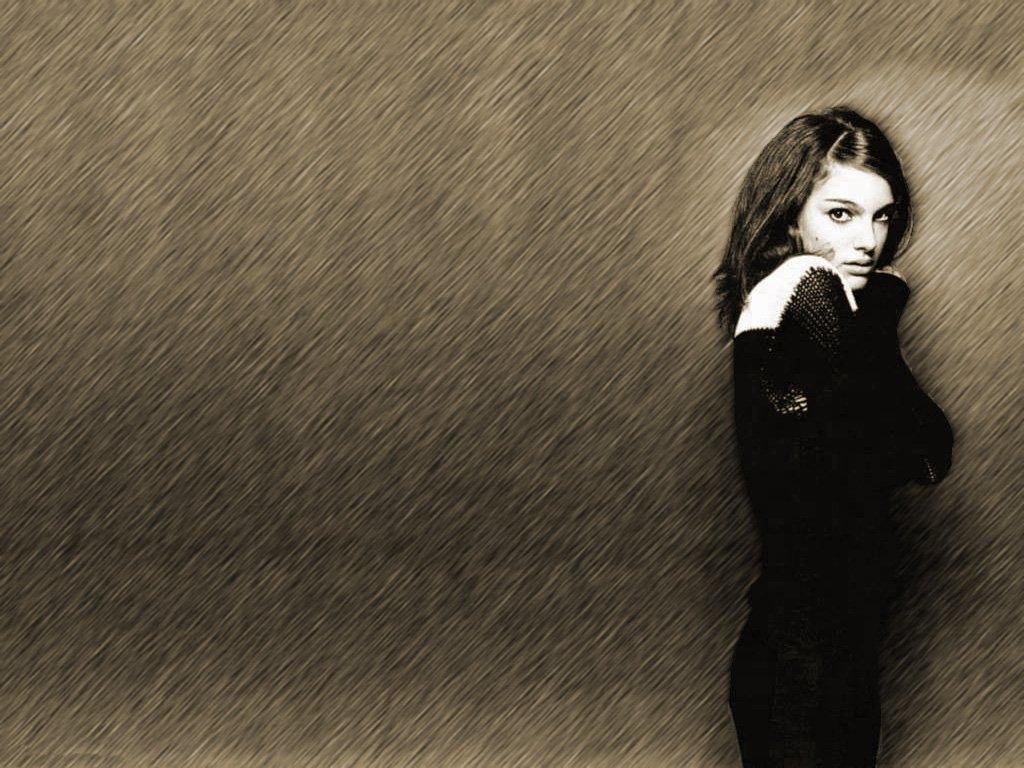 Wallpaper Ange Natalie Portman