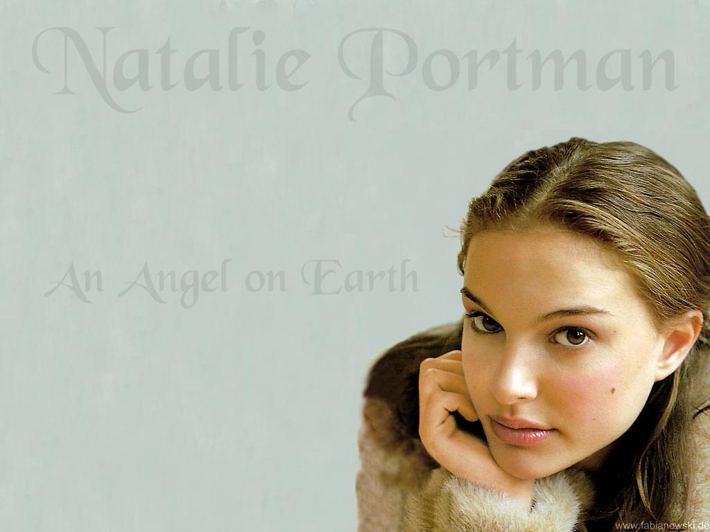 Wallpaper Angel Natalie Portman