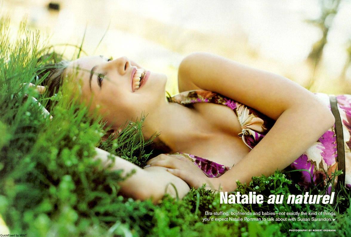 Wallpaper Natalie Portman Nature