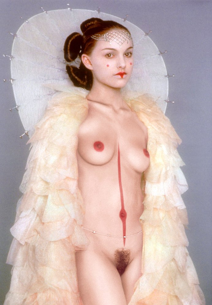 Wallpaper Star Wars Sexy nue Natalie Portman