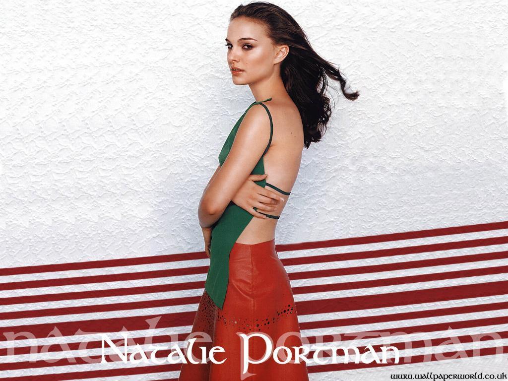 Wallpaper jolie fille Natalie Portman