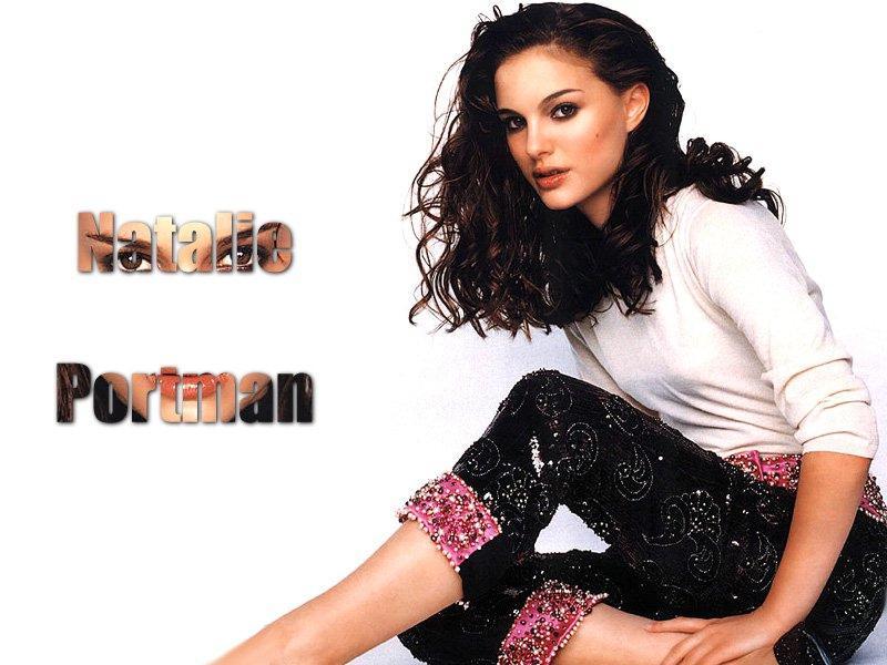 Wallpaper Natalie Portman sexy