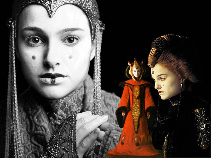 Wallpaper Natalie Portman Amidala Star Wars