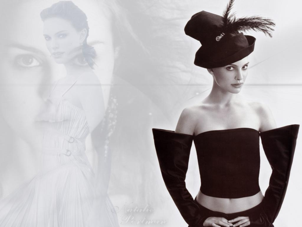 Wallpaper Natalie Portman Angel