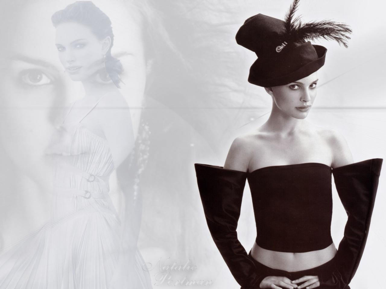 Wallpaper Natalie Portman Angel