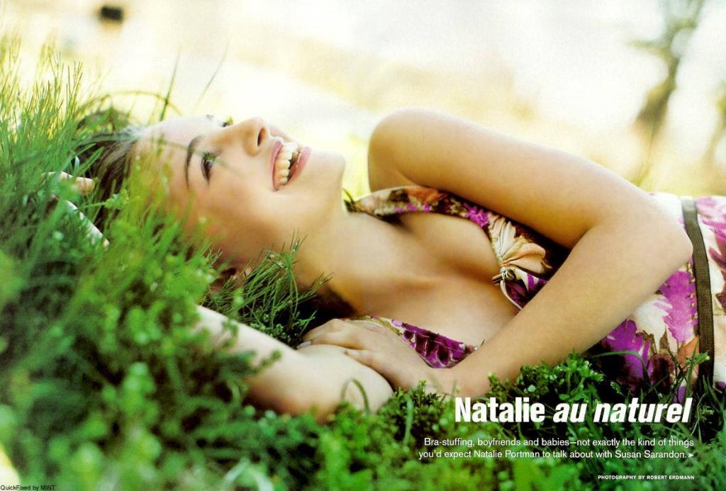 Wallpaper Nature Natalie Portman