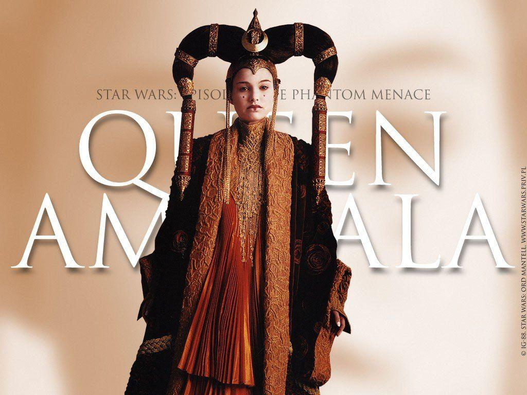 Wallpaper Queen Amidala Natalie Portman