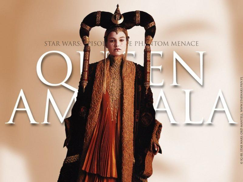 Wallpaper Natalie Portman Queen Amidala