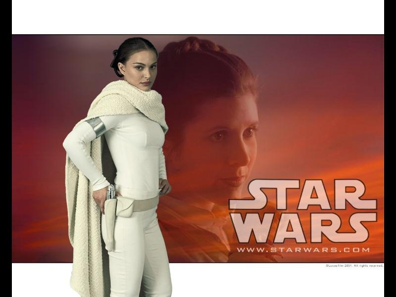 Wallpaper Stars Wars Natalie Portman
