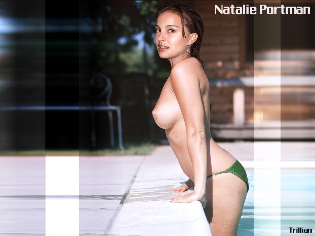 Wallpaper Natalie Portman Top Sexy nue