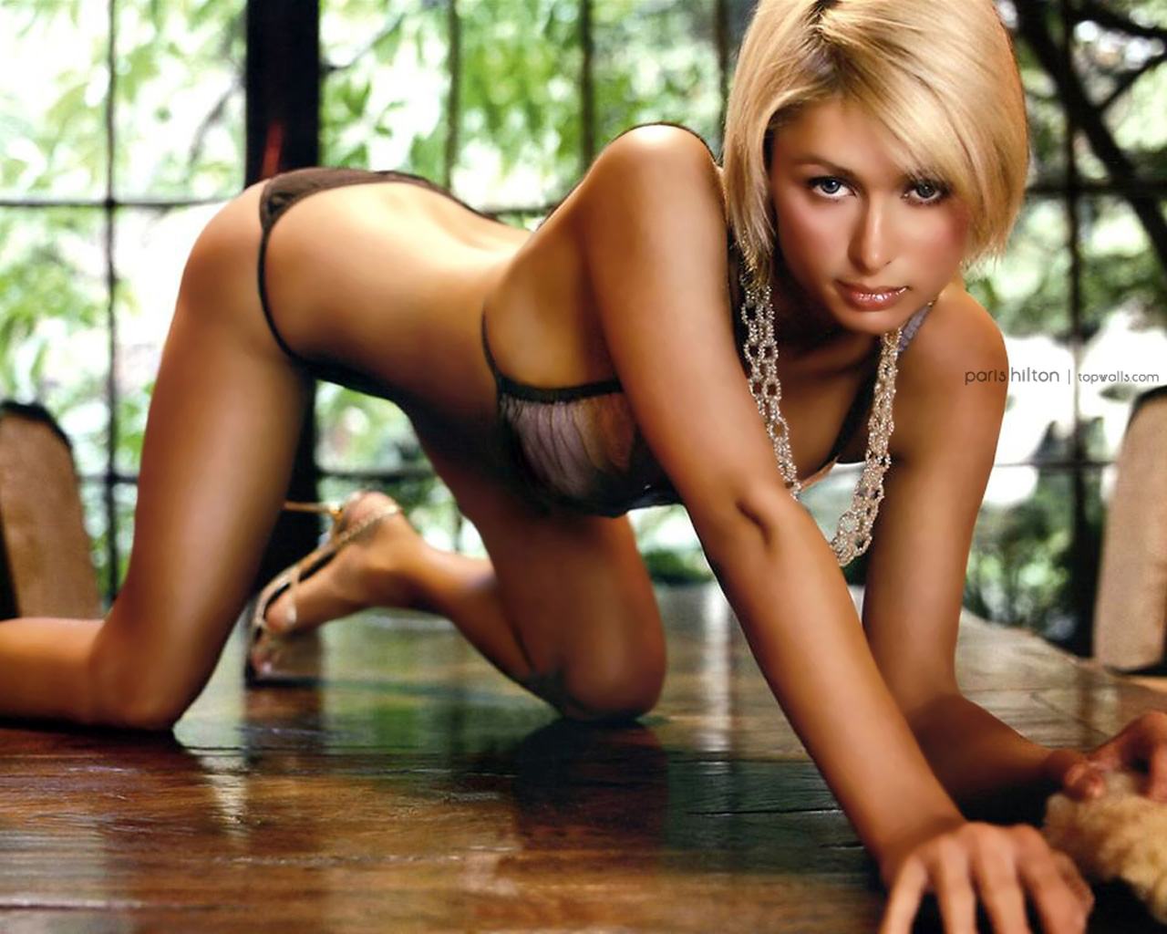 Wallpaper Paris Hilton Hot