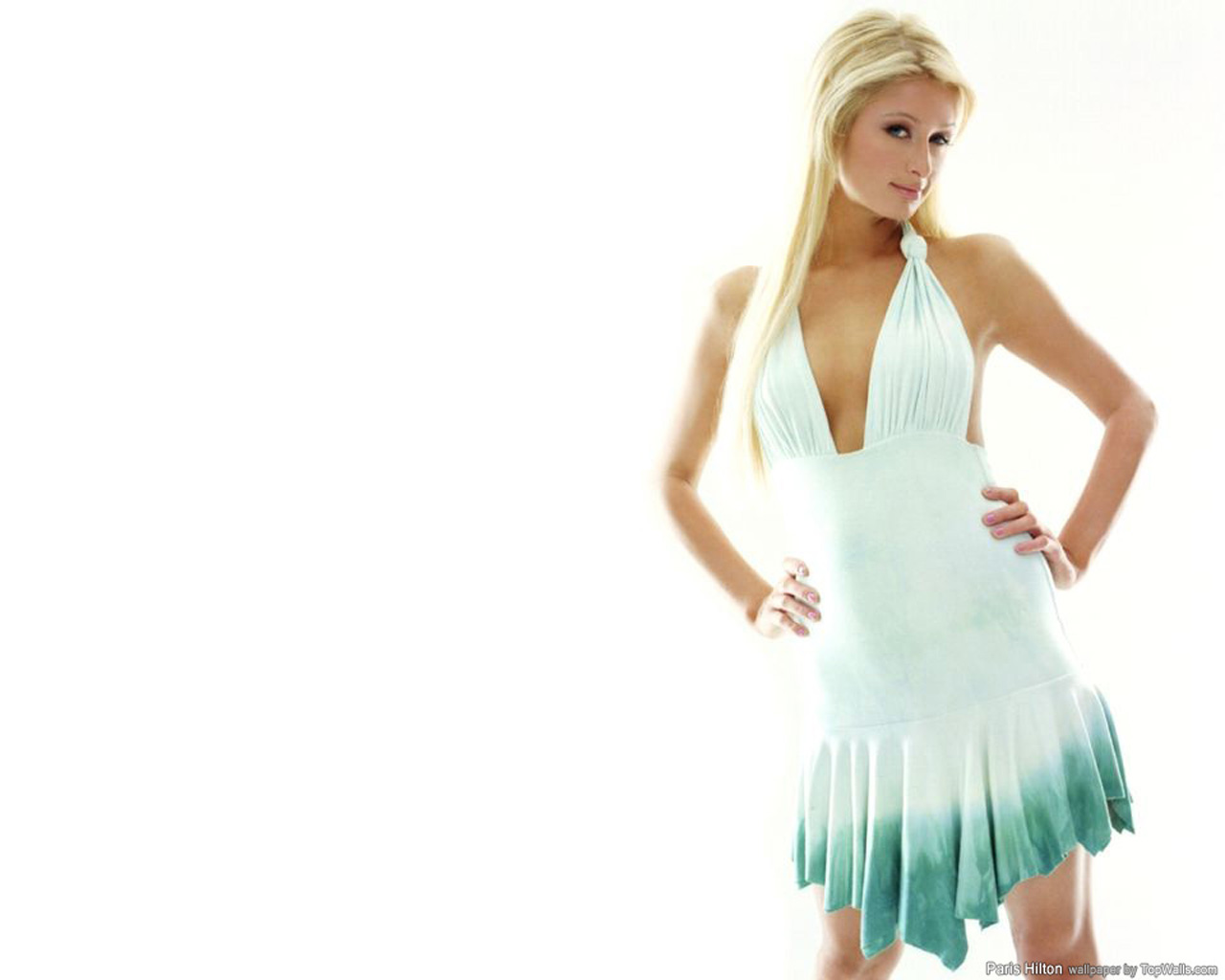 Wallpaper sexy Paris Hilton