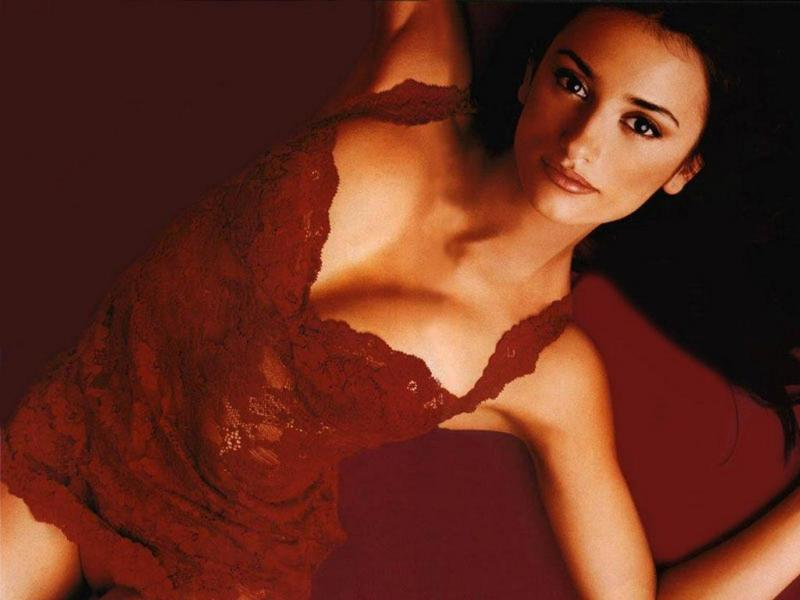 Wallpaper Penelope Cruz fine tenue