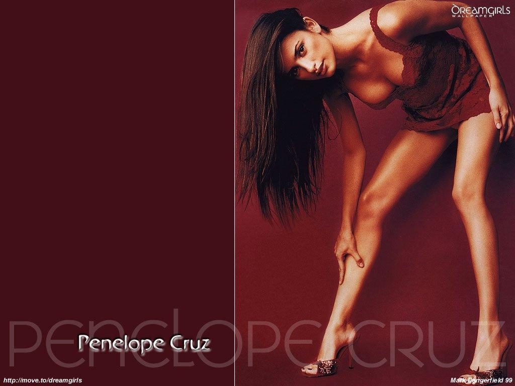 Wallpaper Penelope Cruz provocante