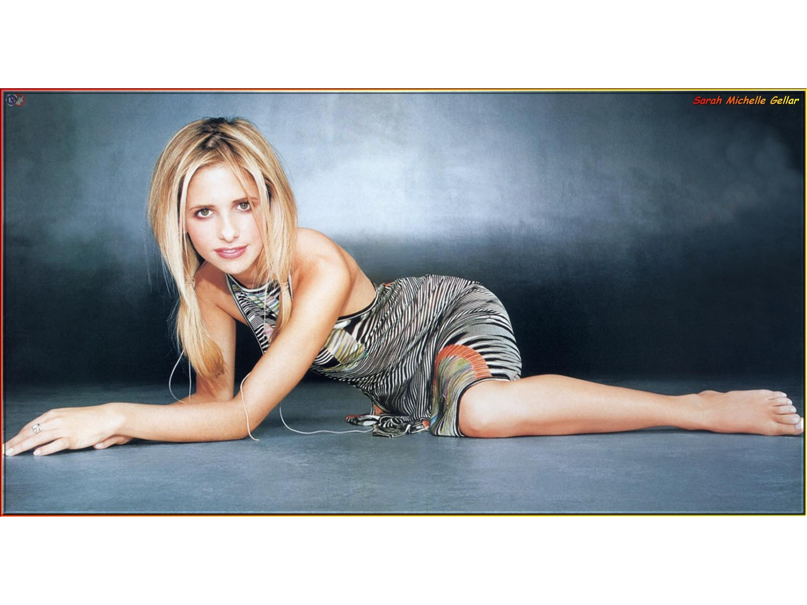 Wallpaper Sarah Michelle Gellar Sauvage