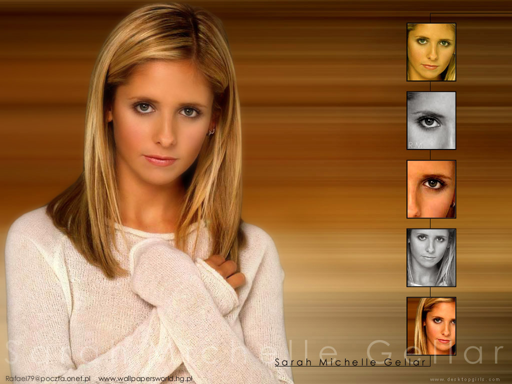 Wallpaper Sarah Michelle Gellar Top