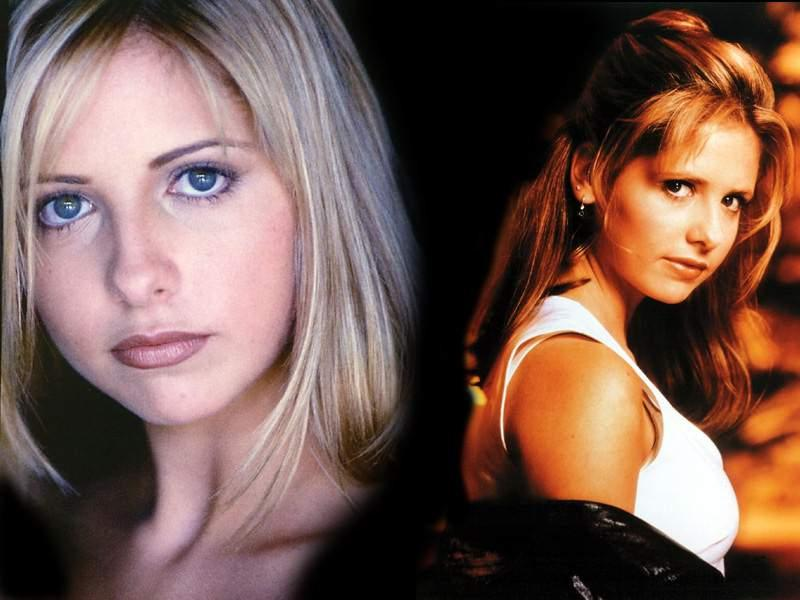 Wallpaper Sarah Michelle Gellar volontaire