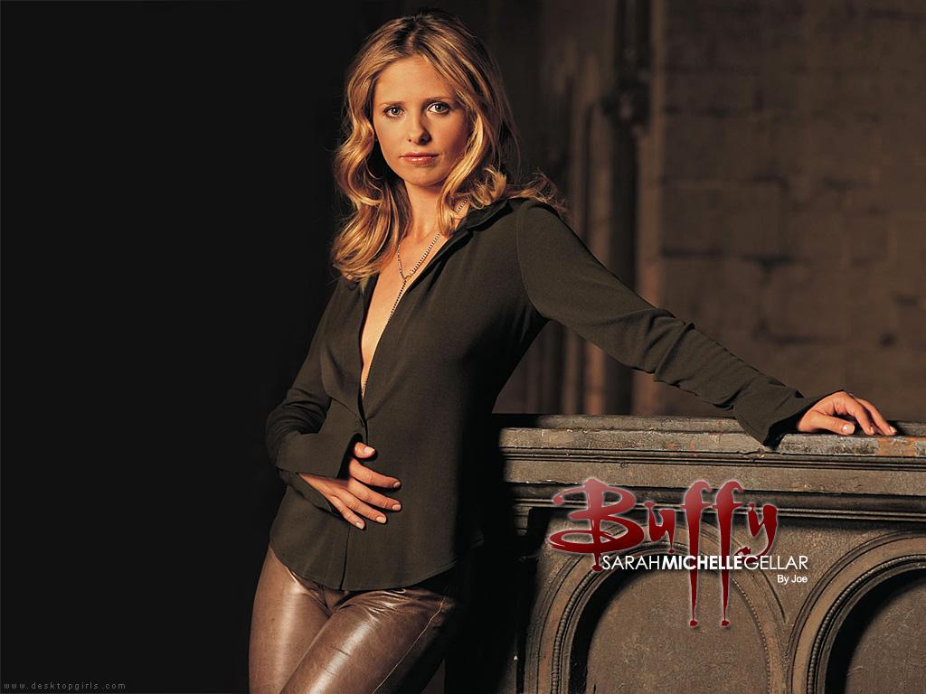 Wallpaper Sarah Michelle Gellar Buffy