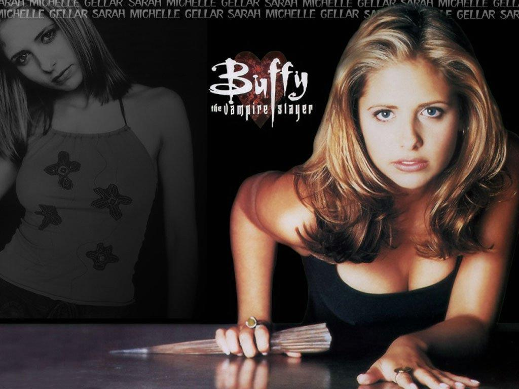 Wallpaper buffy Sarah Michelle Gellar