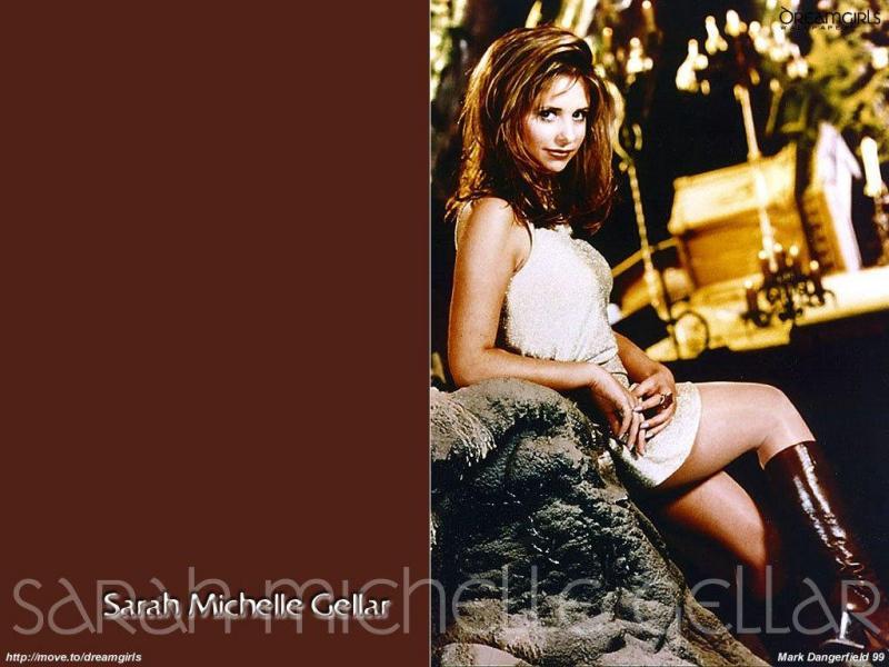 Wallpaper jolie fille Sarah Michelle Gellar