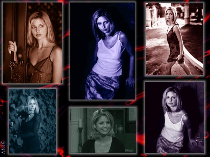Wallpaper photographie Sarah Michelle Gellar