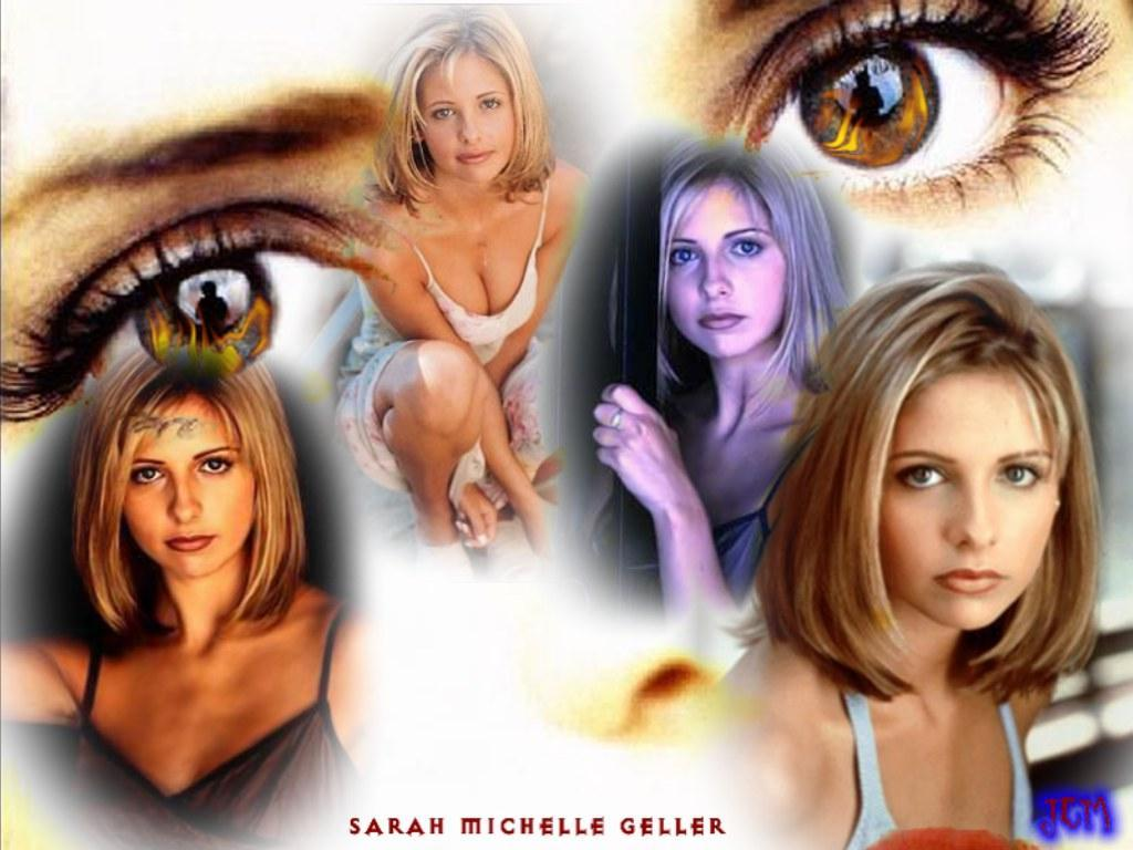 Wallpaper Sarah Michelle Gellar regard